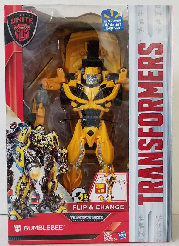 BUMBLEBEE Transformers Flip & Changes Walmart Exclusive Hasbro action  figure NEW for Sale in Covina, CA - OfferUp