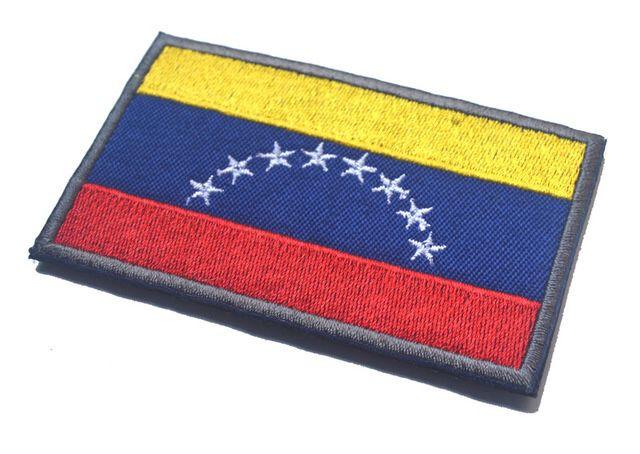 Venezuela flag patch