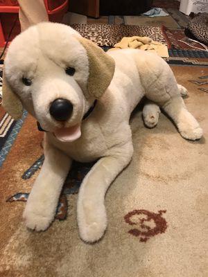 Photo E and j classic prima collection kids plush or stuff animal lab retriever dog