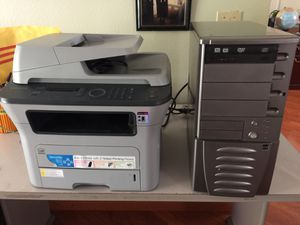 Computer and printer for parts for Sale in Stockton, CA