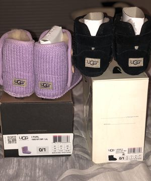 UGG Boots baby girl size 0/1 for Sale in MONTGOMRY VLG, MD