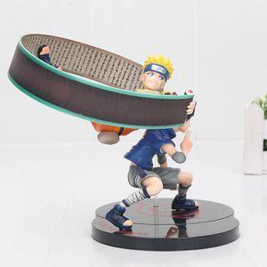 Naruto Uzumaki & Uchiha Sasuke Naruto action Figure Toy Model doll 7'' for Sale in Annville, PA