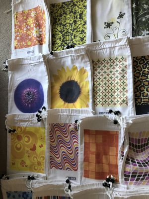 Cotton bags / shoe bags - $5 each or 5 for $20 for Sale in Gig Harbor, WA