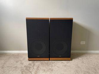 Fisher STV-887 3 Way Home Floor Standing Speakers Thumbnail