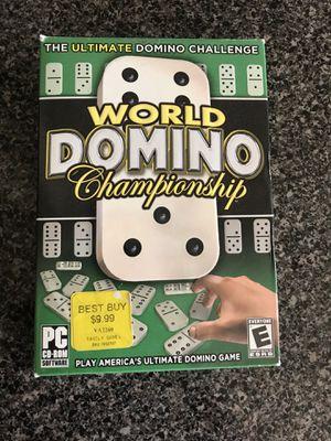 World Domino Championship ( CD-ROM) for Sale in Atlanta, GA