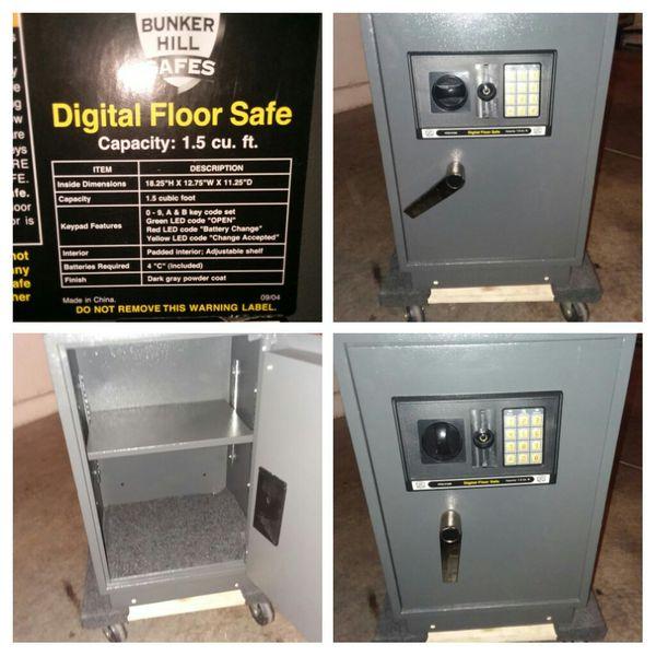 Bunker Hill Digital Floor Safe