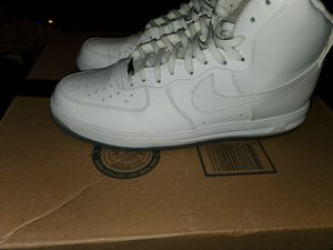 Photo Nike lunar force 1 high '14 white/clear