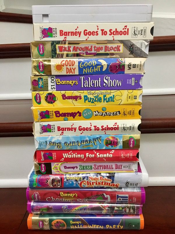 15 Vhs Barney Movies For Sale In Naperville Il Offerup