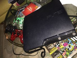 PlayStation 3 complete with games inside and 3 controllers for Sale in Alexandria, VA