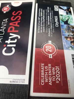 Atlanta City Passes for Sale in Atlanta, GA