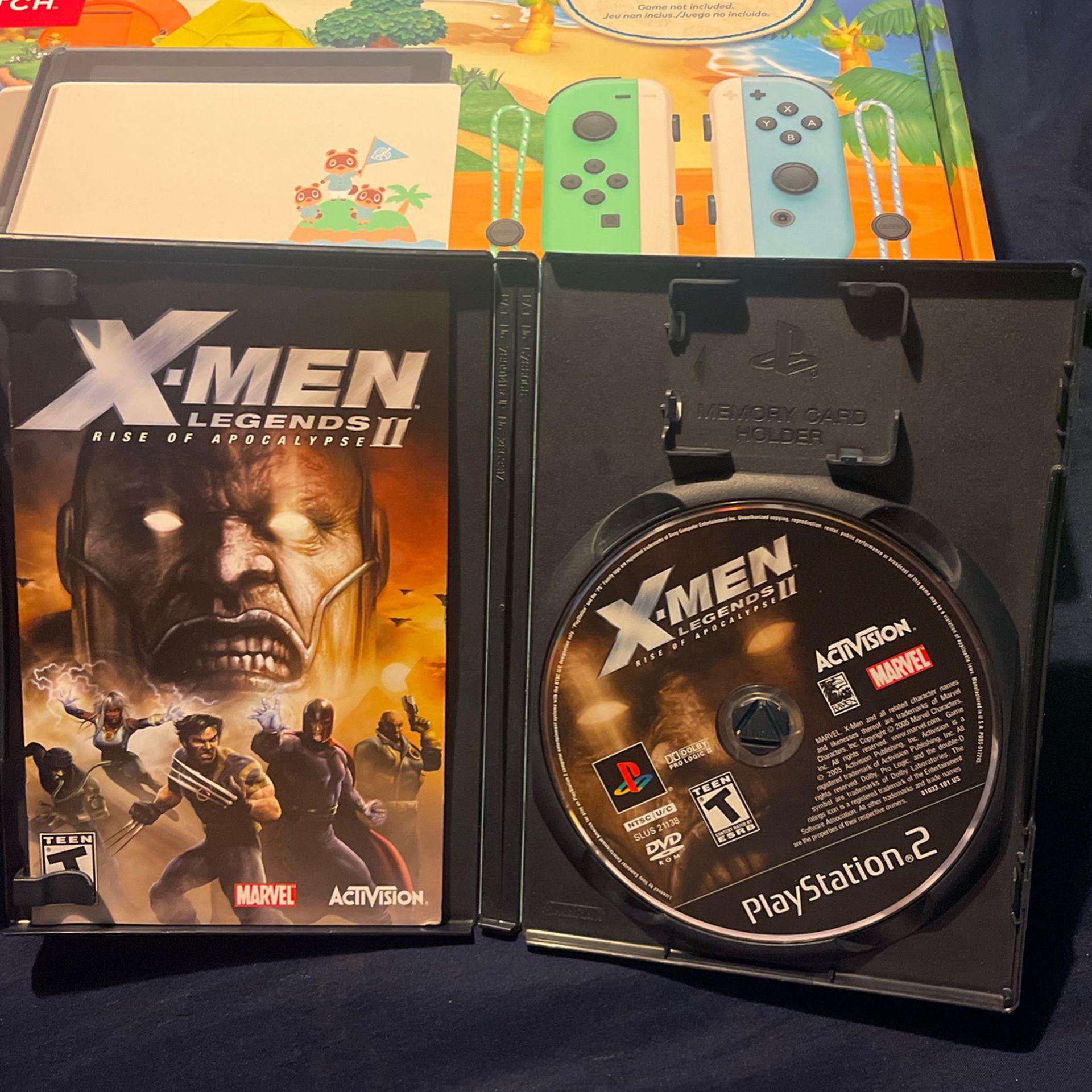 PS2 X-Men Legends II Rise Of Apocalypse