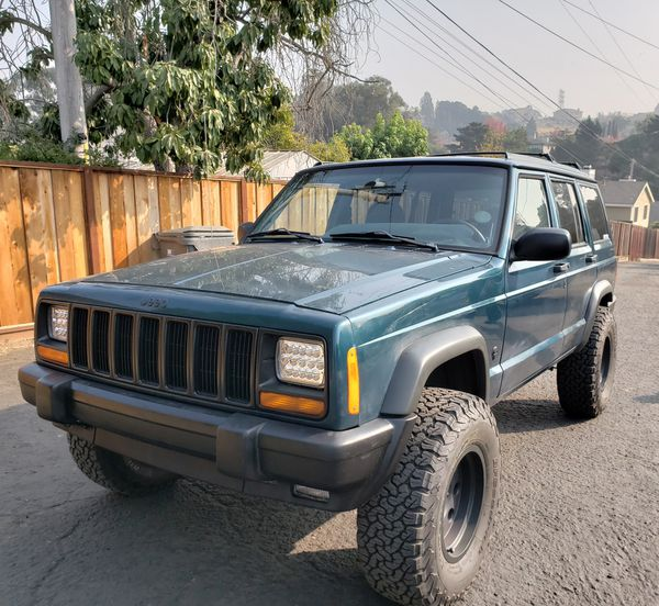 1997 Jeep Xj Cherokee 4x4 3 Inch Lift Rc For Sale In Hayward Ca