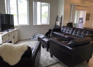 Italian leather sofa/chair set for Sale in Upper Marlboro, MD