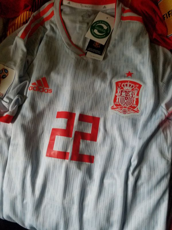 3d3b7a7c8 ISCO SPAIN AWAY JERSEY 2018 PLAYER ISSUE NEW WITH TAGS for Sale in ...