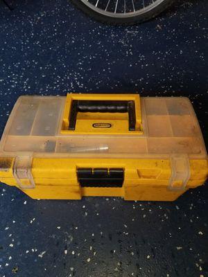 Photo Small tool Box with various telecom tools