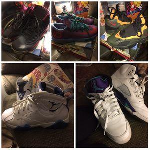 Jordan's and nikes for Sale in Midlothian, VA