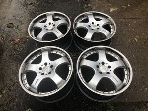 5x112 19 inch 2/5 Carlsson Rims (2 piece) for Sale in Alexandria, VA