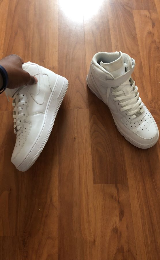 """Nike Air Force ones """"mid tops"""""""