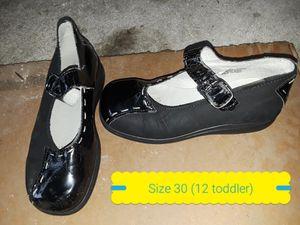 12 toddler dress shoe girl for Sale in Fairfax Station, VA