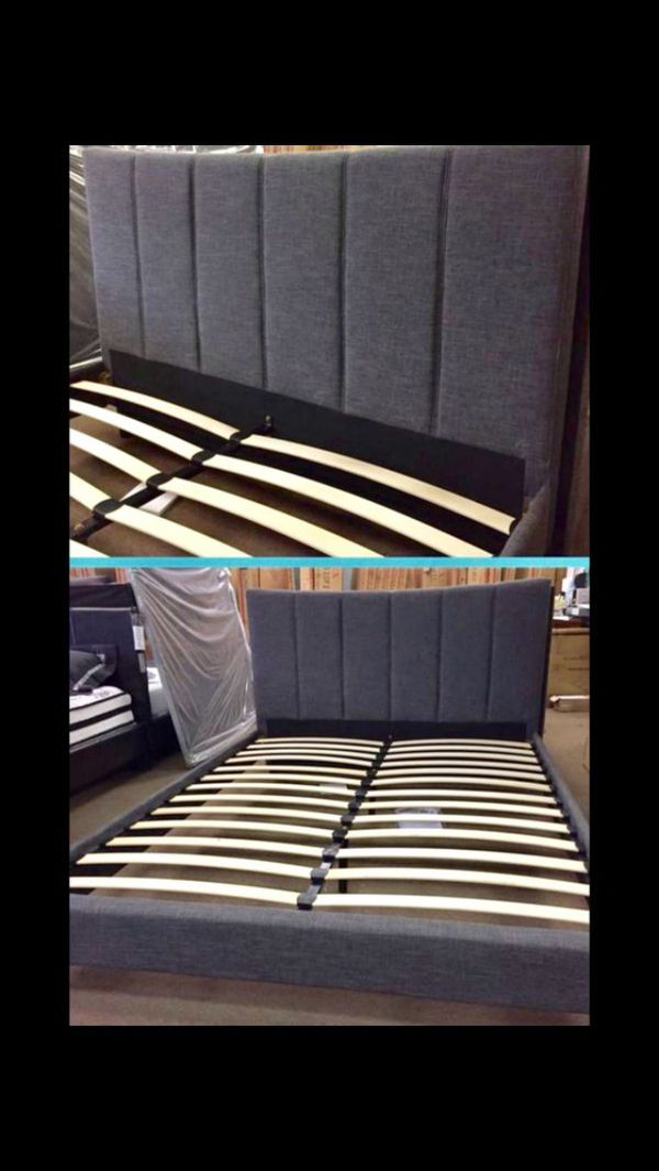 New Queen Frame and Mattress for Sale in Costa Mesa, CA - OfferUp