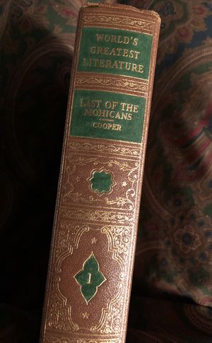 Last of the Mohicans - vintage book antique for Sale in Seattle, WA