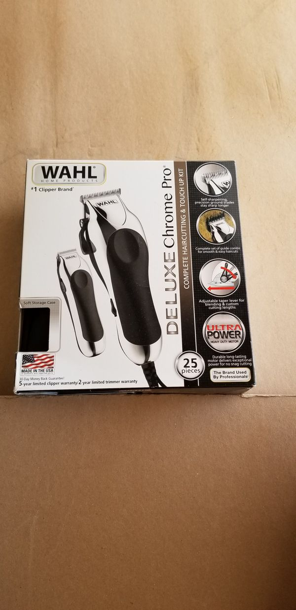Wahl Deluxe Chrome Pro Haircut Machine For Sale In Lyman Sc Offerup