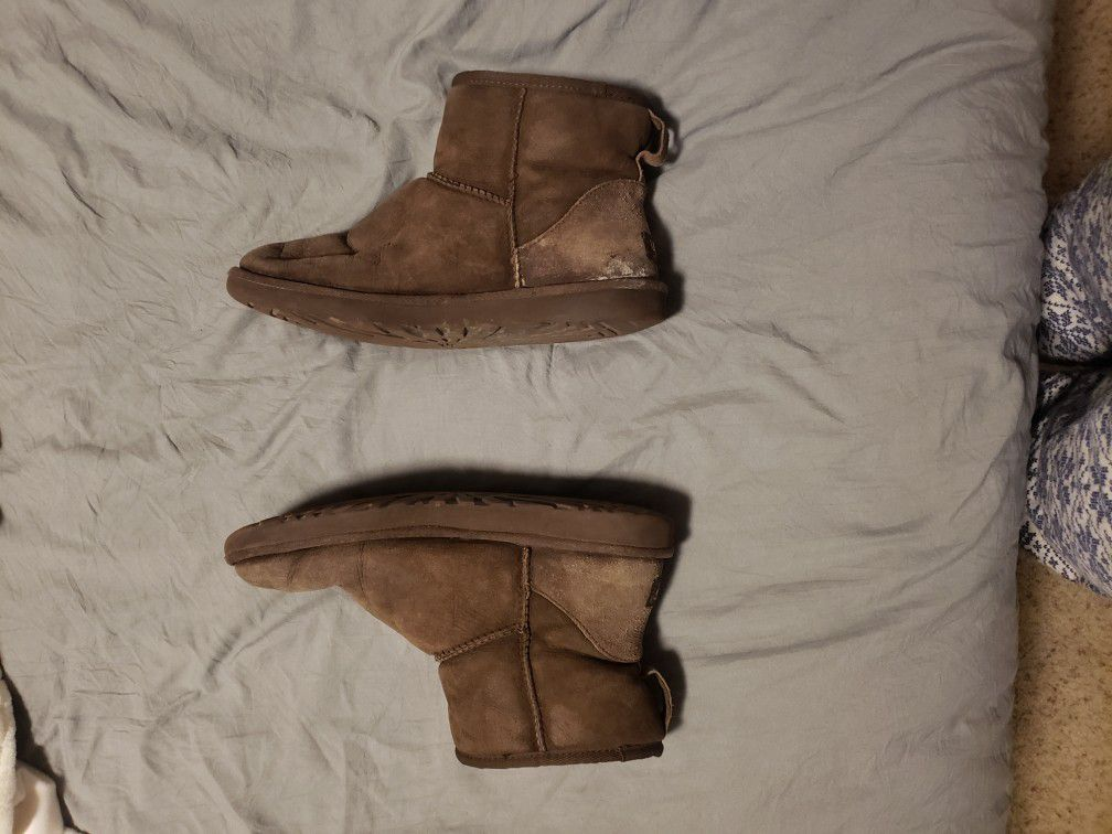 Ugg Boots, Size 10, Classic Mini, Chocolate Brown