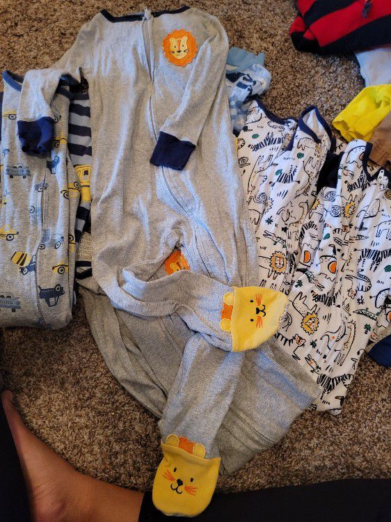 Jammies zip up pajamas sleepers