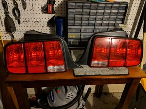 2007 Mustang OEM Tailights w/harnesses and all bulbs for Sale in Winston-Salem, NC