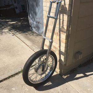 """8"""" over chopper front end $350 obo for Sale in Denver, CO"""