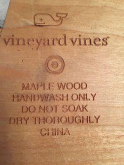 🐳 Serving Tray-Maple Thumbnail