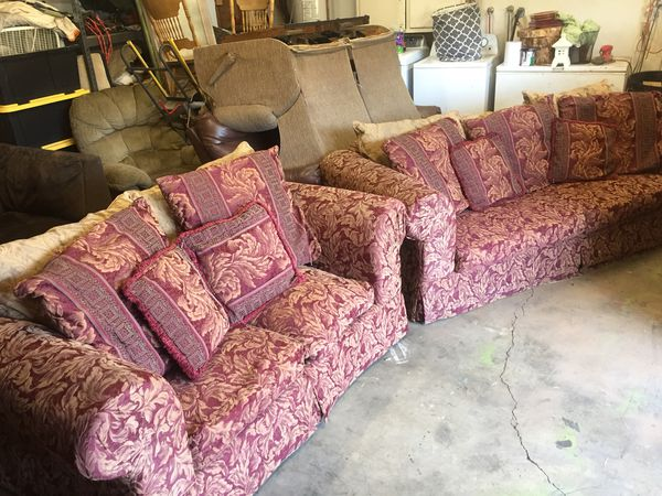 Couch and loveseat (Furniture) in Modesto, CA - OfferUp