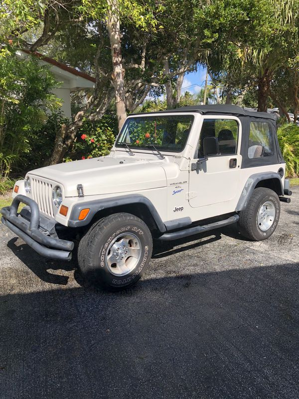 Toyota Henderson Nc >> 1997 Jeep Wrangler Sport. 4.0 Liter (6 cylinder) engine. Auto transmission with 4 wheel drive ...