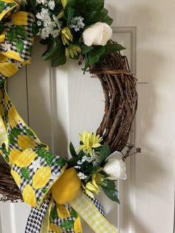 Summer Lemon Wreath Thumbnail