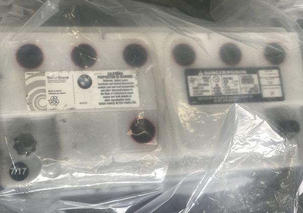 Genuine OEM Bmw Battery For 3 Series & 5 Series Like New ...