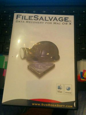 FileSalvage Software to Recover/ Restore Deleted or Unreadable Files on MAC for Sale in San Francisco, CA