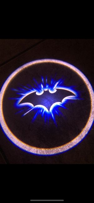 Photo Batman car door shadow lights puddle lights projector lights