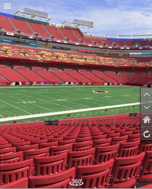 2 Tickets for Redskins vs Texans on November 18 for Sale in Laurel, MD