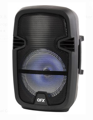 QFX 8-in Portable Bluetooth speaker for Sale in Perris, CA