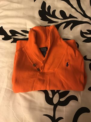 Boys Polo orange sweater for Sale in Silver Spring, MD