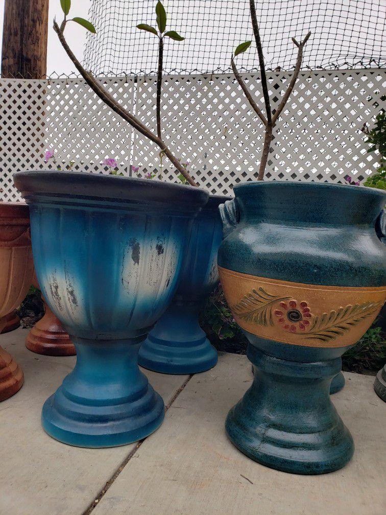 Clay Pots, Macetas, Pottery, Gardening, Metal Decor, Barro, Sun&Moon Decor, Aztec Suns, Aztec Moons, Maseteros, Chimenia, Fire pit