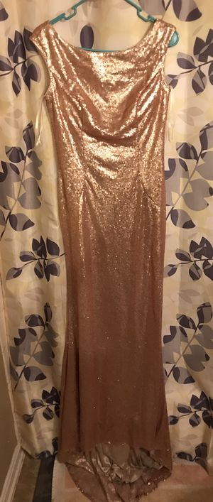 Rose Gold Prom/Bridesmaid Dress for Sale in Herndon, VA