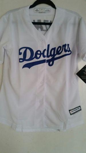2e8210d0c7f Dodgers woman baseball jersey #23 Gonzalez white size XL for Sale in San  Bernardino,