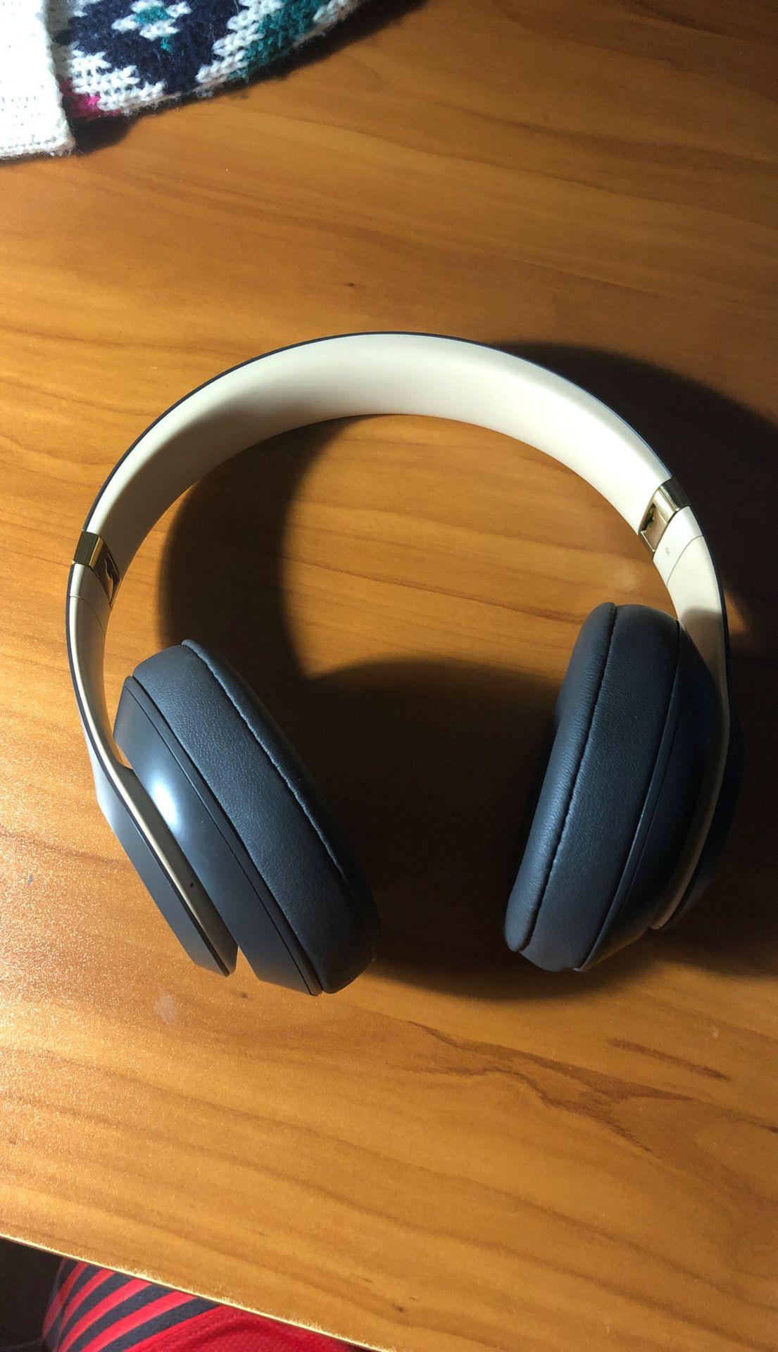 beats studio 3 wireless gold