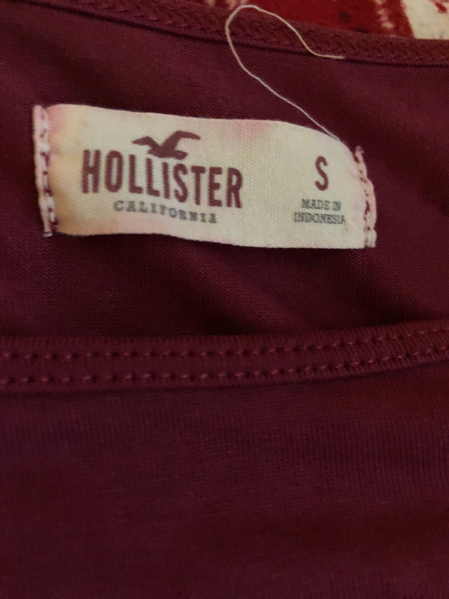 Hollister cold shoulder top
