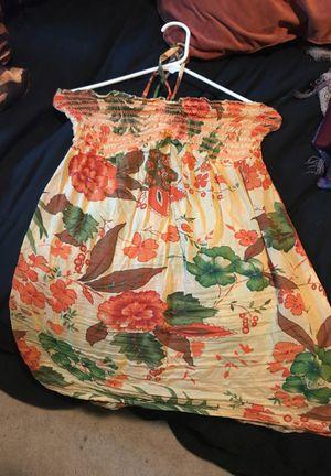 orange summer dress for Sale in Salt Lake City, UT