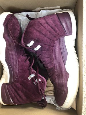 Jordan 12 Bordeaux Size 10.5 for Sale in Temple Hills, MD