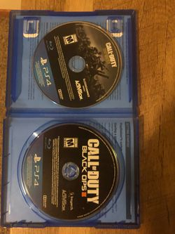 Call of duty wwII extra disc call of duty black opsIII Thumbnail