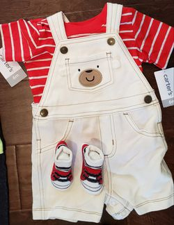 FOUR - 6 month boys outfits by Carter Thumbnail