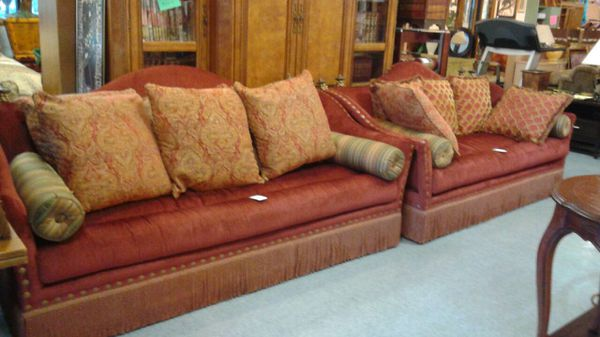 Ferguson Copeland Ltd Sofa And Love Seat For Sale In